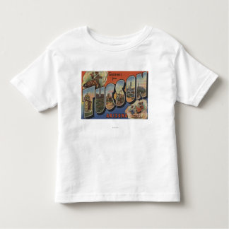 Tucson, Arizona - Large Letter Scenes 2 Toddler T-shirt