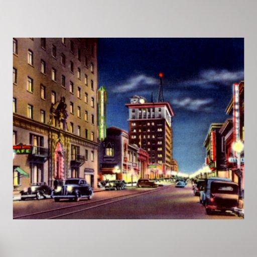 Tucson Arizona Pioneer Hotel on Stone Avenue at Ni Print