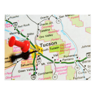 Tucson, Arizona Postcard