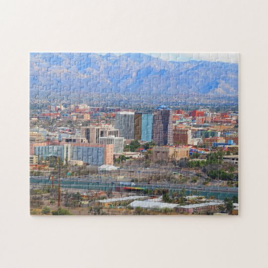 Tucson Arizona Skyline Jigsaw Puzzle