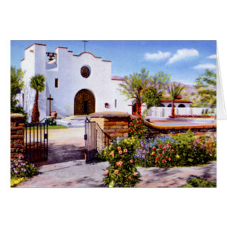 Tucson Arizona St Philips in the Hills Mission Card