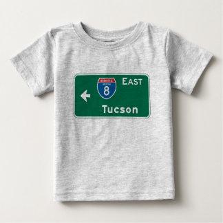 Tucson, AZ Road Sign Baby T-Shirt