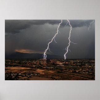 Tucson Lightning Poster