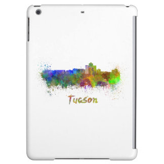 Tucson skyline in watercolor iPad air covers