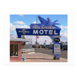 Tucumcari, New Mexico, Rte. 66 Motel Postcard