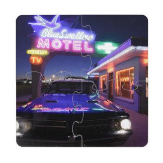 Tucumcari, New Mexico, United States. Route 66 Puzzle Coaster
