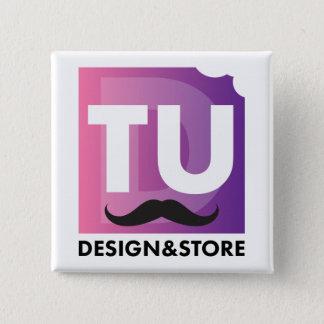 TUD Store badge 2 Inch Square Button