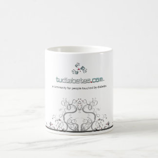 TuDiabetes.com Mug |White Line|