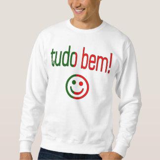 Tudo Bem! Portugal Flag Colors Sweatshirt