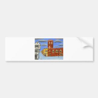 Tudor House in Exeter Bumper Sticker