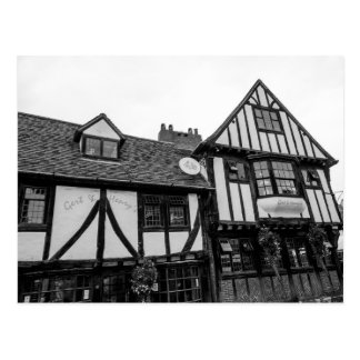 """Tudor pub"" postcards"