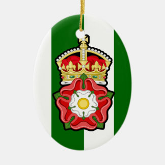 Tudor Rose Christmas Ornament