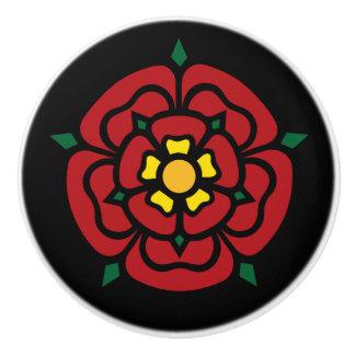 Tudor Rose - English Rose Ceramic Knob