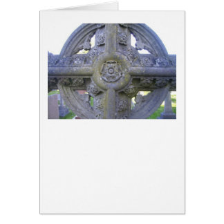 Tudor Rose Gravestone Card