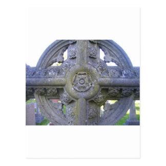 Tudor Rose Gravestone Post Cards