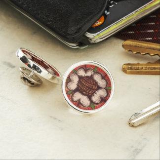 Tudor Rose Lapel Pin