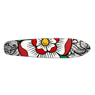 Tudor Rose Skateboard Deck