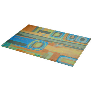 Tuesday Afternoon 11 x 8 Deco Glass Cutting Board