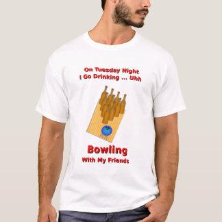 Tuesday Night Beer Bowler T-Shirt