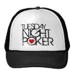 Tuesday Night Poker Trucker Hats