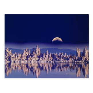 Tufas and Moon Postcard