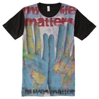 Tuff Az Empire All Lives Matter Artist Black Shirt