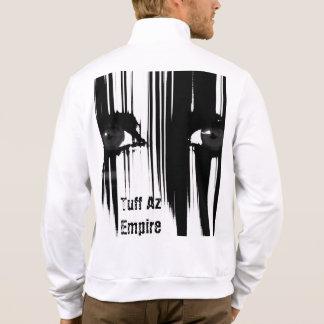 Tuff Az Empire, Men's California Fleece Zip Jogger Jacket