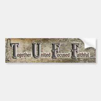 Tuff Bumper Sticker