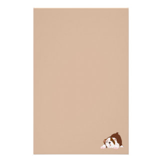 Tuff Pup Playful Bulldog Puppy Personalized Stationery