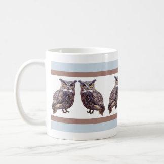 Tuffed Ear Owl Coffee Mug