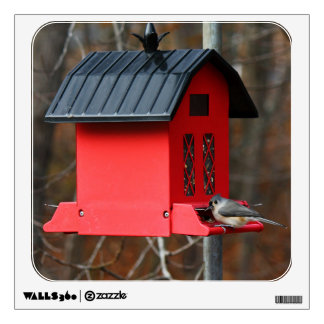 Tufted Titmouse Stillwater, Maine Wall Decal