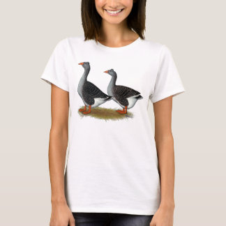 Tufted Toulouse Geese T-Shirt