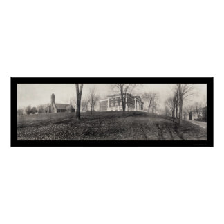 Tufts College Photo 1910 Poster