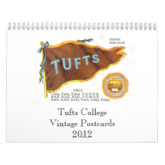 Tufts College Vintage Postcards 2012 Wall Calendars