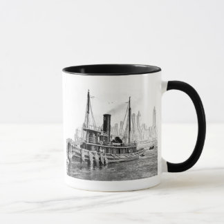 Tug and Skyline Mug