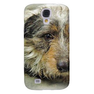Tug at Heart Corgi Terrier Mix Dog Galaxy S4 Covers