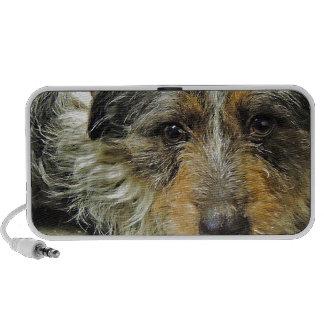 Tug at Heart Corgi Terrier Mix Dog Laptop Speaker