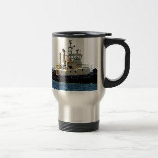 Tug boat 5 travel mug