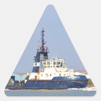 Tug Boat Mercia Triangle Sticker