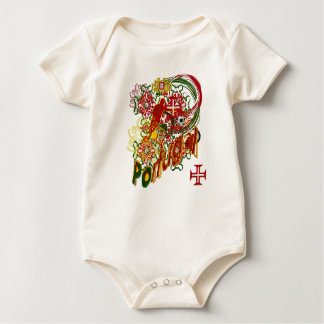 Tugas - Present for you drink Portuguese Baby Bodysuit