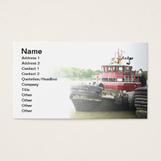tugboat business card