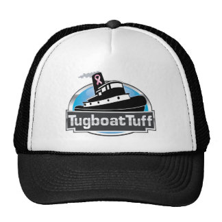 Tugboat hat for breast cancer awareness
