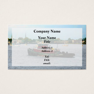 Tugboat Norfolk Virginia Business Card
