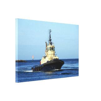 Tugboat Tingari, Australia Canvas Print