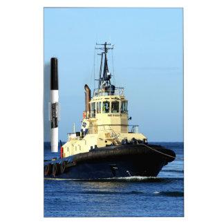 Tugboat Tingari, Australia Dry Erase Whiteboard