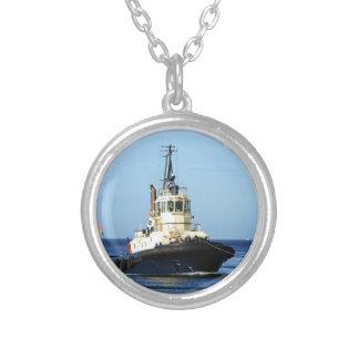 Tugboat Tingari, Australia Silver Plated Necklace