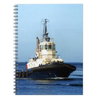 Tugboat Tingari, Australia Spiral Note Book