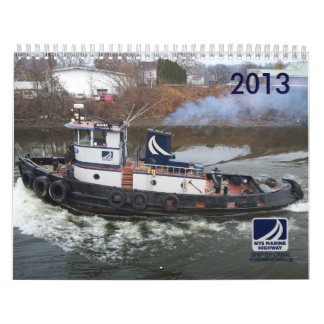 Tugboats and Cargo of NYS Marine Highway Calendars