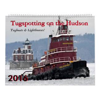 Tugboats & Lighthouses Calendar