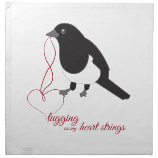 Tugging Heart Strings Cloth Napkins
